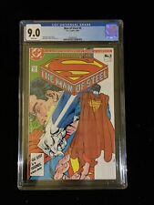 1986 DC Comics MAN OF STEEL #5 CGC 9.0 White Pages, 6010
