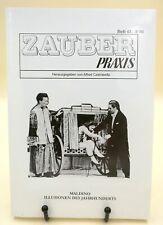 Maldino - Illusionen des Jahrhunderts, ZauberPraxis Heft 43-3/01, Topzustand