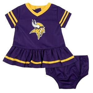 Minnesota Vikings Baby Dazzle Dress & Panty Set - Gerber NFL