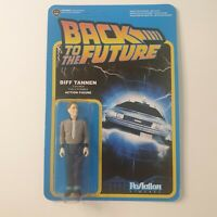 FUNKO REACTION BACK TO THE FUTURE BIFF TANNEN Action Figure Unpunched Card