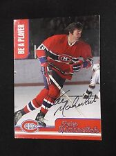 1999/2000 Be A Player Peter Mahovlich Autographed card signed card CH-7