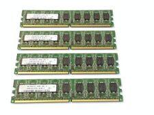 Mémoires RAM DDR2 SDRAM, 2 Go par module avec 4 modules