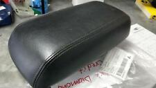 ZC FORD ESCAPE BLACK LEATHER CONSOLE LID (NO LATCH), 06/2006-03/2008