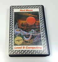RED MOON by Level 9 1985 Commodore 64 C64 Original Spiel Cassette Sammler