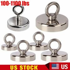 Neodymium Fishing Magnets 100 To 1100 Lbs Pulling Force Magnet Powerful Strong
