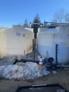 2000 gallon water tank