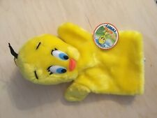 Vintage Tweety Bird Puppet 1988 Tag Still On Warner Bros