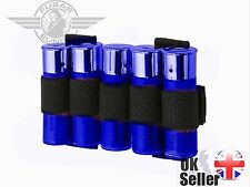 Airsoft Shotgun Shell Cartridge Holder Molle Fittment - Black