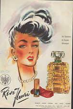 BUENOS AIRES, Werbung 1950, Sáenz Briones y Cia. ANJOU Rêve Fleuri Parfum