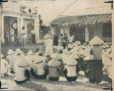 1966 Press Photo Ngo Tuong Funeral Service in Le My Vietnam War Ap Phong Bac