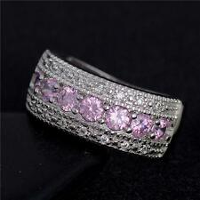Women Natural Size 6-9 Silver Plated  Ring Jewelry Wedding