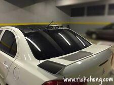 2008 TO 2016 MITSUBISHI LANCER GTS SE GT CUSTOM ROOF DIFFUSER VORTEX GENERATOR