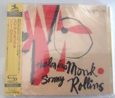 Thelonius Monk & Sonny Rollins, Shm, Cd, Japan, Mono