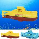6CH Mini RC Submarine Diving Ship Kids Remote Control Toy Speedboat Led Light