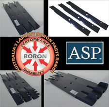 "RIDE ON MOWER BLADES TO SUIT KUBOTA 72"" 60"" 54"" 48"" 44"" & 40"" DECKS"