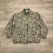 Anna And Frank Womens Silk Quilted Jacket Lined Size Medium