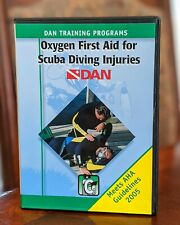 Dan Training Programs Oxygen First Aid for Scuba Diving Injuries Dvd