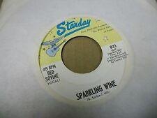 Red Sovine Sparkling Wine/Twenty One 45 rpm Starday VG+