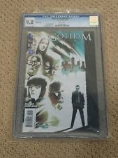 Gotham 2 CGC 9.8 White Pages Variant Cover (Classic Batsignal Cover!!)