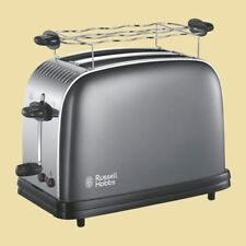 Russell Hobbs Toaster Colours Plus+ Storm Grey 23332-56 - grau
