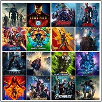 Marvel Movie Posters Prints A4 A3 (VARIOUS DESIGNS)