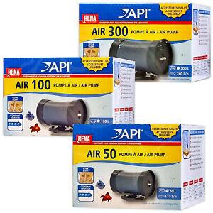 API Air Pumps Aquarium Water Oxygenation Bubble Maker Fish Tank Air Stones