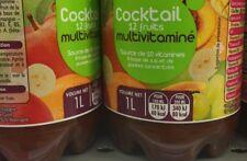 lot revendeur-palette solderie/déstockage De 9 Litres De jus Cocktail 12 Fruits