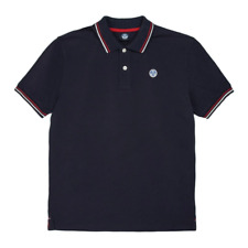 North Sails W/Logo Tipped Polo Men - Navy
