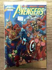 MARVEL COMICS THE AVENGERS vol.3 #1 Chromium Cover collectible Busiek Perez 1998