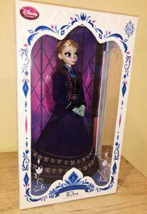 "Disney Store Purple ELSA Regal Doll Limited Edition Frozen 17"" Doll"