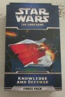 Star Wars the Card Game Knowledge and Defense Force Pack Fantasy Flight FFG NIB