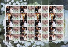 Gibraltar 2018 MNH Prince Harry & Meghan Royal Wedding 20v M/S Royalty Stamps