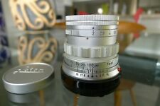Leitz Leica Summicron M 50mm f/2 Rigid lens Exc++ beautiful glass CLA'D 3/2020