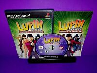 Lupin the 3rd: Treasure of the Sorcerer King (PlayStation 2, 2004) PS2 Complete