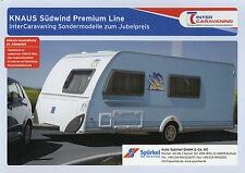 Prospekt Knaus Wohnwagen Südwind Premium Line 2004 450 FU 500 FDK EU FU 550 FSK