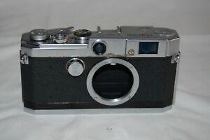 Canon-L3 Vintage 1957 Japanese Rangefinder Camera. Serviced. No.529584. UK Sale