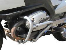 Crash Bars Pare carters Heed BMW R 1200 RT (2005-2013) argenté protection moteur