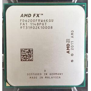 AMD FX 6200 Black Edition 6 Core 3.8GHz 8MB Socket AM3+ FD6200FRGUBOX Processor