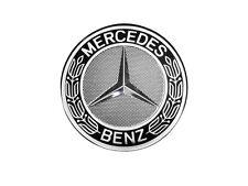 4 ORIGIN Mercedes Benz Coperchio Mozzo Ruota Coprimozzo STELLA CORONA ALLORO Nero