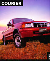 2002 Ford Courier Truck Australia Sales Brochure Book