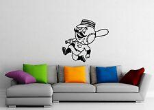 Wall Stickers Vinyl Decal Baseball Bat Sports Ball ig1677