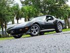 Palmetto Florida 1978 Black Corvette