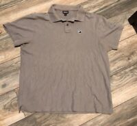 Patagonia Gray Polo Shirt Men's Medium organic Cotton