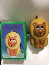 VINTAGE NOVELTY LEO THE LION RADIO AM(MW)- BAND FROM THE 1970s-WITH BOX