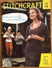 Vintage Stitchcraft Magazine. November 1961