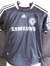 "Chelsea Nero AWAY SHIRT 2008/09 - 28 "" -30"" - bosingwa 17 sul retro"