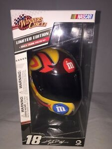 WINNERS CIRCLE M&M's Racing Helmet #18 KYLE BUSCH Limited Edition of 7500 NASCAR