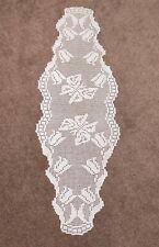 More details for handmade crochet table runner, length 133cm, width 48cm.