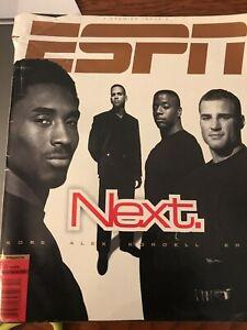 ESPN The Magazine Premier Issue MARCH 23 1998 NEXT Kobe Alex Kordell Eric