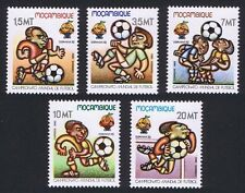Football Mozambican Stamps